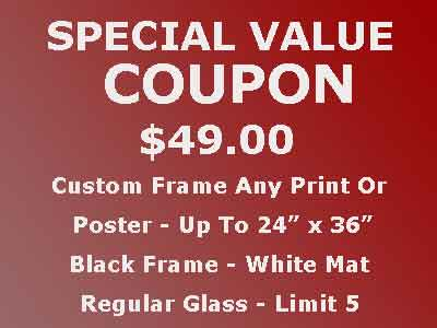 $49.99 Frame Any Print Or Poster