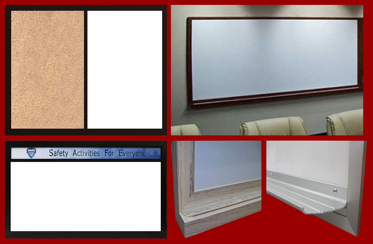 We fabricate white dry erase magnetic and non magnetic whiteboards
