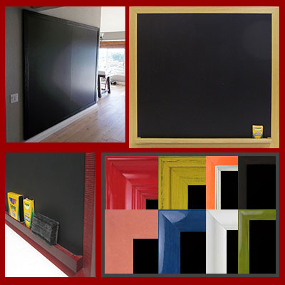 Custom chalkboards made to your size - 